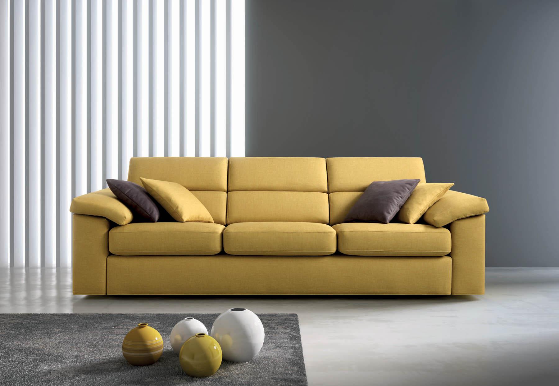 Divano divani pelle samoa miform ego italiano divani for Modelli salotti moderni