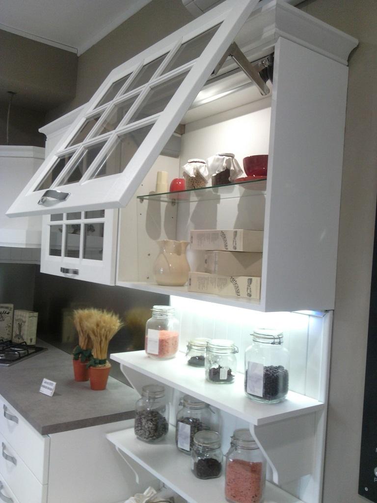 Stosa Cucine Cucina Beverly Provenzale Legno Bianca O5 Cucine
